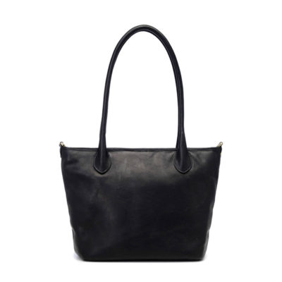 ONA The Capri Leather Black Shoulder Bag