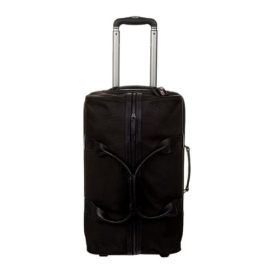 ONA The Hamilton Black Nylon Rolling Bag
