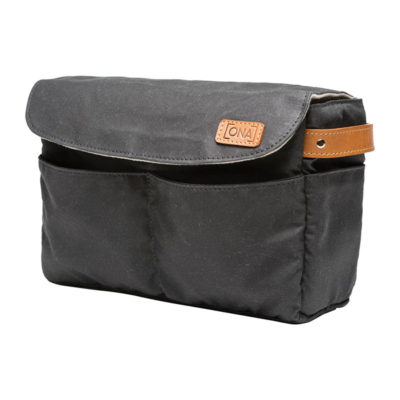 ONA The Roma Black Camera Insert and Bag Organizer