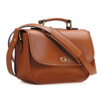ONA The Palma Cognac Shoulder Bag