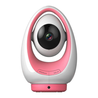 Foscam FosBaby P1 720P HD Baby Monitor Pink