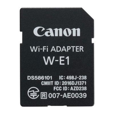 Canon W-E1 wifi-adapter