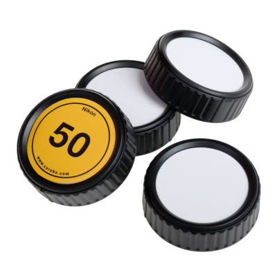 Caruba Writable Rear Lens cap Kit Nikon - 4 stuks