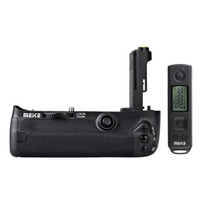 Meike BG-E11 Battery Grip voor Canon + afstandsbediening