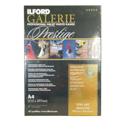 Ilford Galerie Smooth Fine Art Paper 200g A4 25 Vel