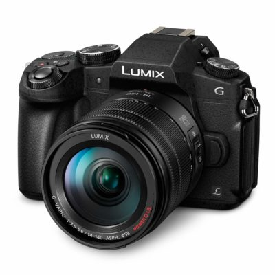 Panasonic DMC-G80 systeemcamera Zwart + 14-140mm