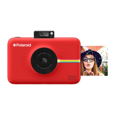 Polaroid Snap Touch instant digital camera Rood