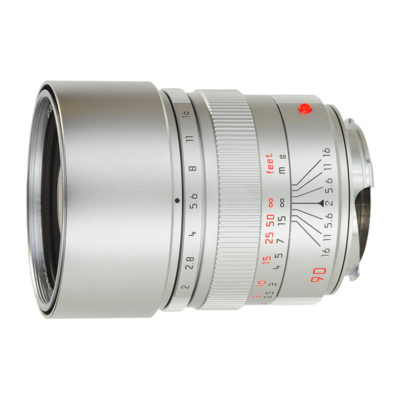 Leica Summicron-M 90mm f/2.0 Silver-chromed Brass - Occasion