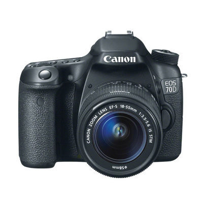 Canon EOS 70D DSLR + 18-55mm IS STM open-box