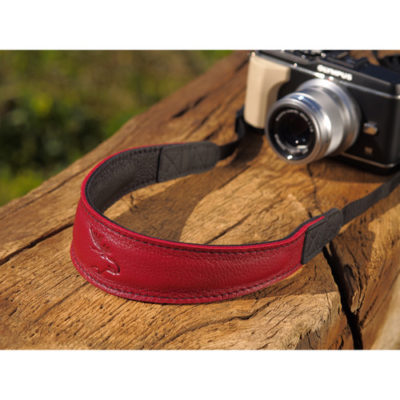 Eddycam Fashion -2- 42mm schouderriem Red / Black