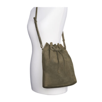 Olympus Bucket Bag Olive En Vogue