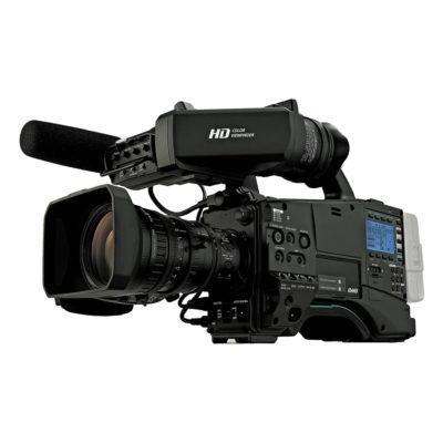 Panasonic AJ-PX800GF P2 HD videocamera + viewfinder en objectief