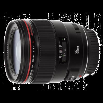 Canon EF 35mm f/1.4L USM objectief - Verhuur
