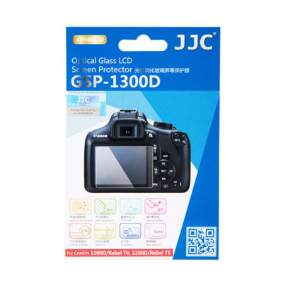 JJC GSP-1300D Optical Glass Protector voor Canon 1300D