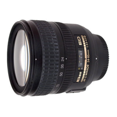 Nikon AF-S 24-85mm f/3.5-4.5G ED objectief - Occasion