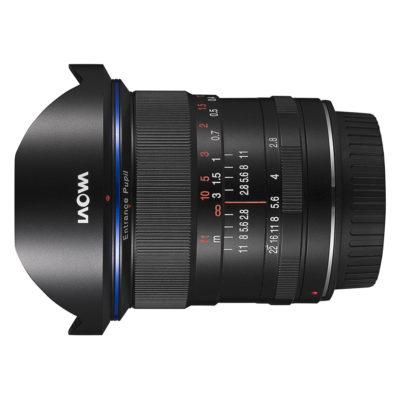 Laowa 12mm f/2.8 Zero-D Ultra Wide Canon EF objectief