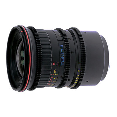 Tokina Cinema AT-X 11-16mm T3 objectief E-mount