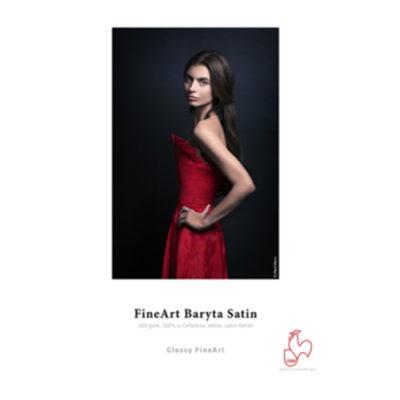 Hahnemühle Glossy FineArt Baryta Satin 300 A4 - 25 vel