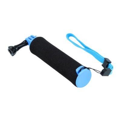 Caruba floating handgrip GoPro mount (zwart/blauw)