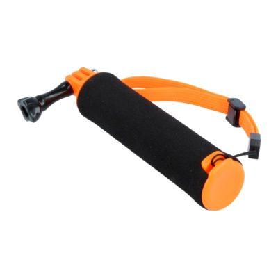 Caruba floating handgrip GoPro mount (zwart/oranje)