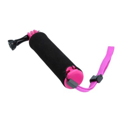 Caruba floating handgrip GoPro mount (zwart/paars)
