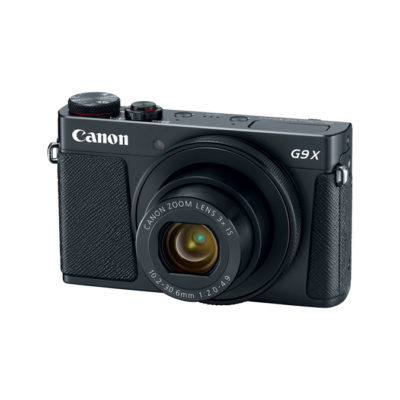 Canon Powershot G9 X Mark II compact camera Zwart