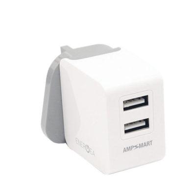 EnerGea Ampcharge 3.4 Duo USB-lader (UK)