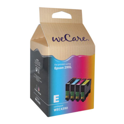 WeCare Epson Inktpatroon 29XL Multipack (4-pack)