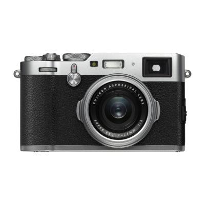Fujifilm FinePix X100F compact camera Zilver