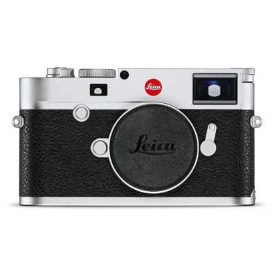 Leica M10 systeemcamera Body Zilver