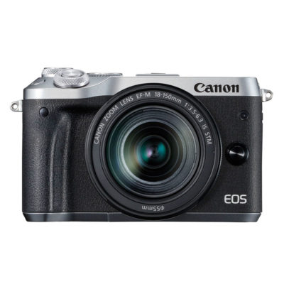 Canon EOS M6 systeemcamera Zilver + 18-150mm IS STM