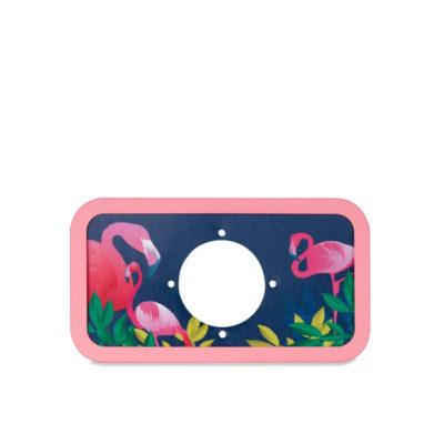 Lomography La Sardina Dress Midnight Flamingo