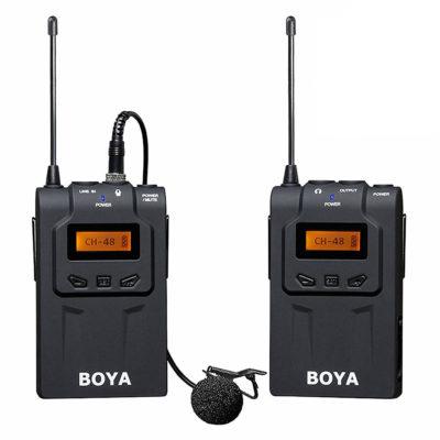 Boya BY-WM6 UHF Draadloos Lavalier Microfoonsysteem