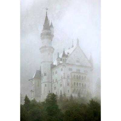 Savage Printed Vinyl Castle In The Fog 1.52m x 2.13m