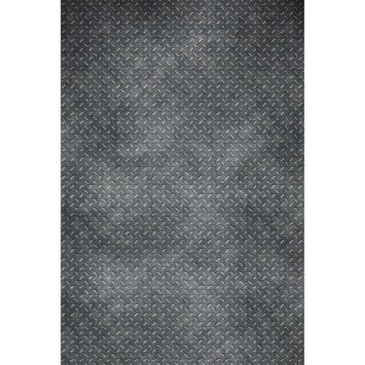 Savage Printed Vinyl Distressed Diamond Plate 1.52m x 2.13m