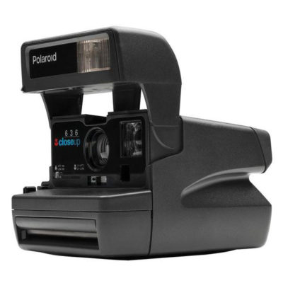 Impossible Refurbished 80s style Polaroid 600 instant camera
