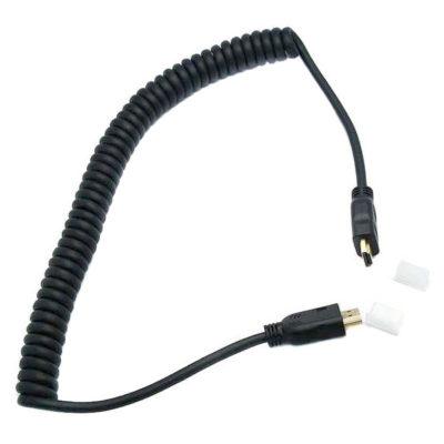 Genesis HDMI - Mini HDMI krulsnoer 100cm