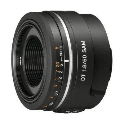 Sony 50mm f/1.8 SAM objectief