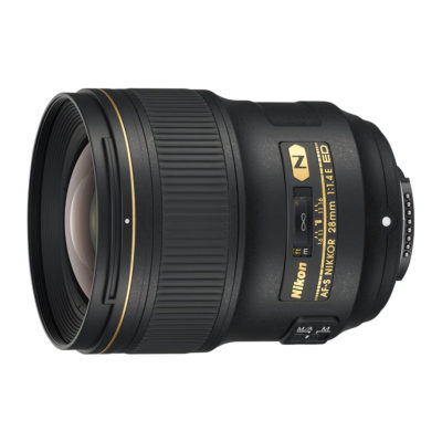 Nikon AF-S 28mm f/1.4E ED objectief