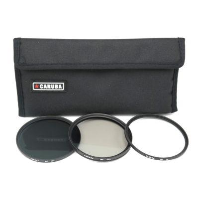 Caruba UV+CPL+ND8 Filterkit 49mm