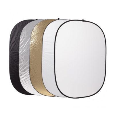 Caruba 5-in-1 Gold, Silver, Black, White, Translucent - 102 x 153cm