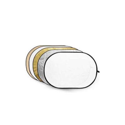 Caruba 5-in-1 Gold, Silver, Sunyellow, White, Translucent - 102 x 153cm