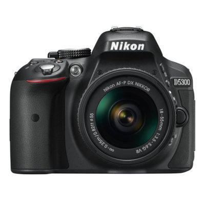 Nikon D5300 DSLR Zwart + AF-P 18-55mm VR