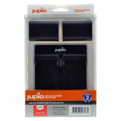 Canon LP-E6 USB Duo Charger Kit (Merk Jupio)