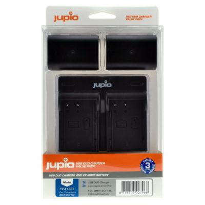 Panasonic DMW-BLF19E USB Duo Charger Kit (Merk Jupio)