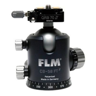 FLM CB-58FTR Mark II Centerball balhoofd met QRS-70