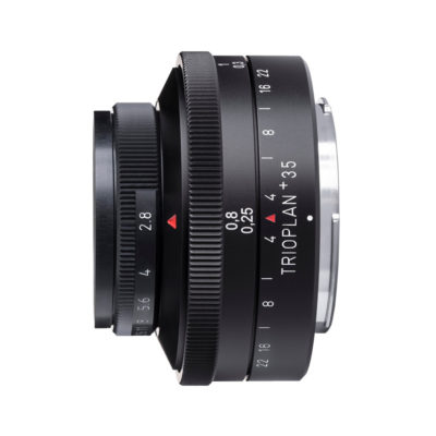 Meyer Optik Görlitz Trioplan 35mm f/2.8 Leica L objectief