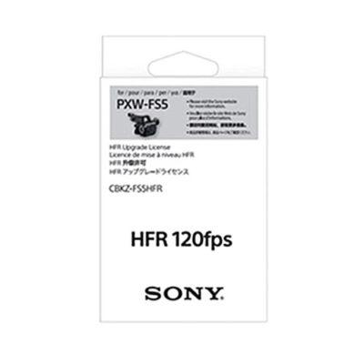 Sony CBKZ-FS5HFR Firmware Upgrade Sony PXW-FS5