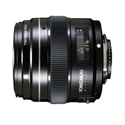 Yongnuo YN 100mm f/2.0 Nikon objectief