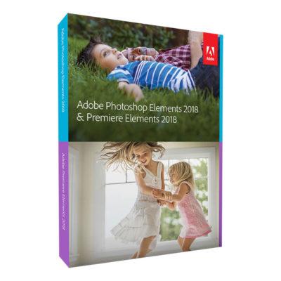 Adobe Photoshop Elements 2018 + Premiere Elements 2018 UK Mac/Windows